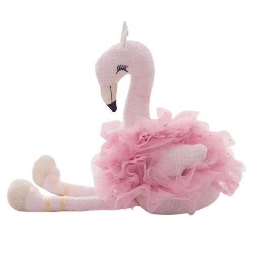 La petite surprise Couture Stofftier Flamingo Rosa