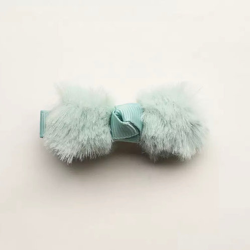 La petite surprise Couture Haarspange Fell Schleife Mint