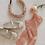 Thumbnail: La petite surprise Couture Samt Haarreifen Rosa