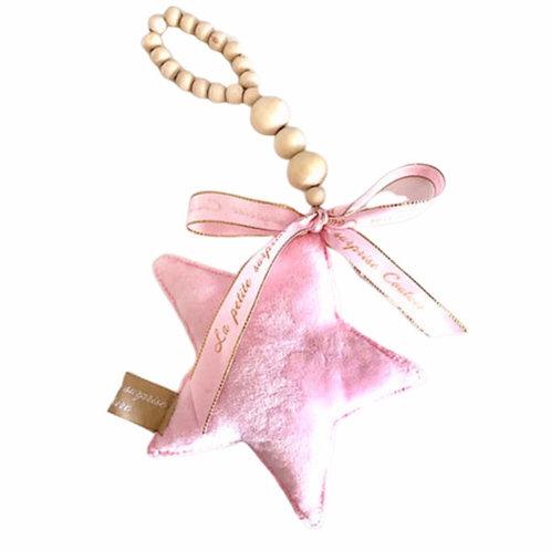 La petite surprise Couture Aufhänger Stern Rosa