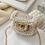 Thumbnail: La petite surprise Couture Boucle Täschchen Perlen Rosa