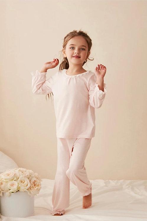 La petite surprise Couture Schlafanzug Brigitte Rosa