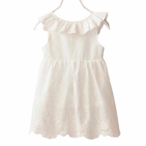 La petite surprise Couture Kleid Mary Weiß