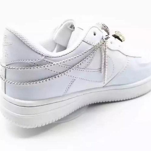 La petite surprise Couture Sneakers Fußkette Strass