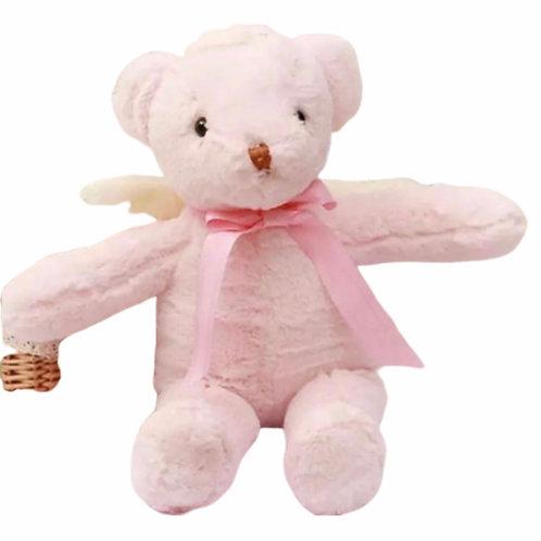 La petite surprise Couture Teddybär Hellrosa 40 cm