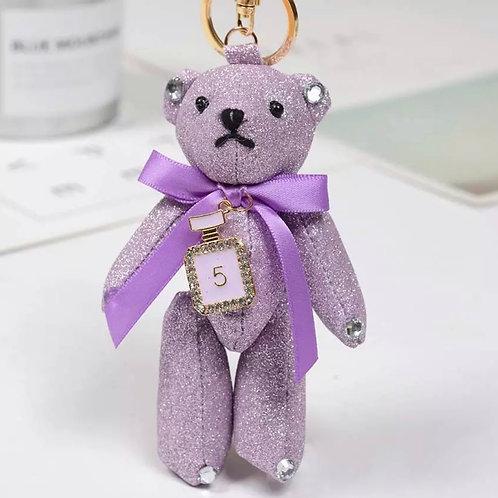 La petite surprise Couture Teddy Anhänger Flieder
