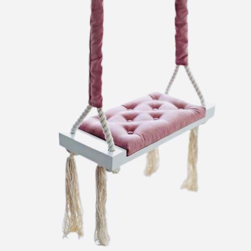 La petite surprise Couture Kinderschaukel Rosa 50x25 cm