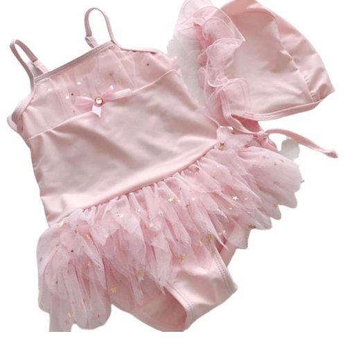 La petite surprise Couture Baby Badeanzug Engel