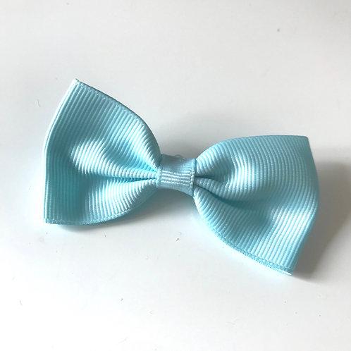 La petite surprise Couture Haarspange Schleife Türkis