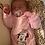 Thumbnail: La petite surprise Couture Baby Lätzchen Spucktuch Rosa