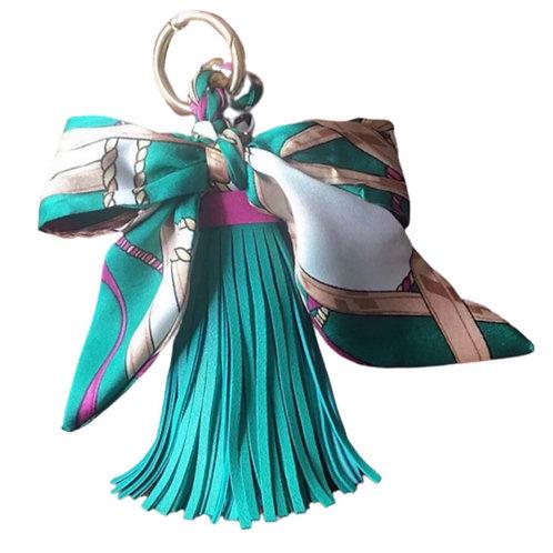 La petite surprise Couture Anhänger Tassel mit Twilly Tiffanygrün
