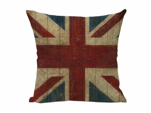 La petite surprise Couture Kissenhülle Union Jack 45x45 cm