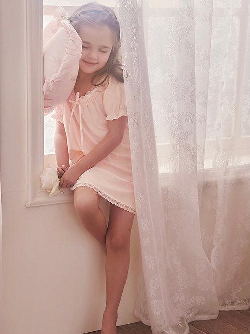 La petite surprise Couture Nachthemd Eva Rosa
