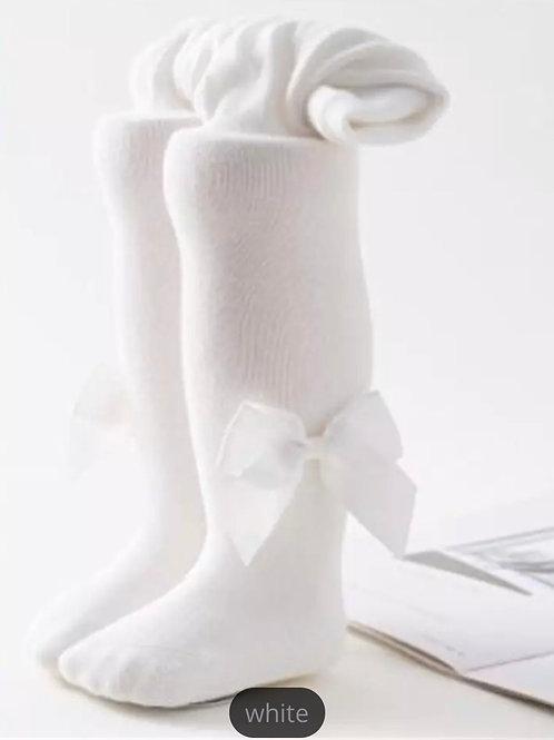 La petite surprise Baby Couture Strumpfhose Weiß
