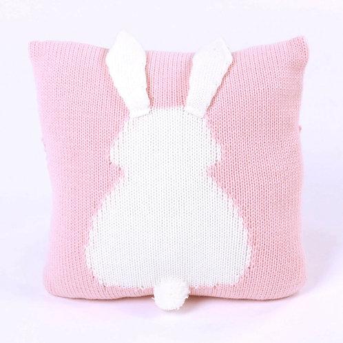 La petite surprise Couture Kissen Kaninchen Rosa 50x50 cm