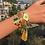 Thumbnail: La petite surprise Couture Boho Armband Gold