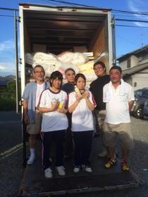 福島県へ支援物資を届けてきました!