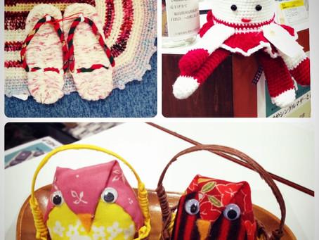 毛糸、編み針を集めています!