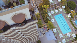 Four Seasons Beverly Hills Pool