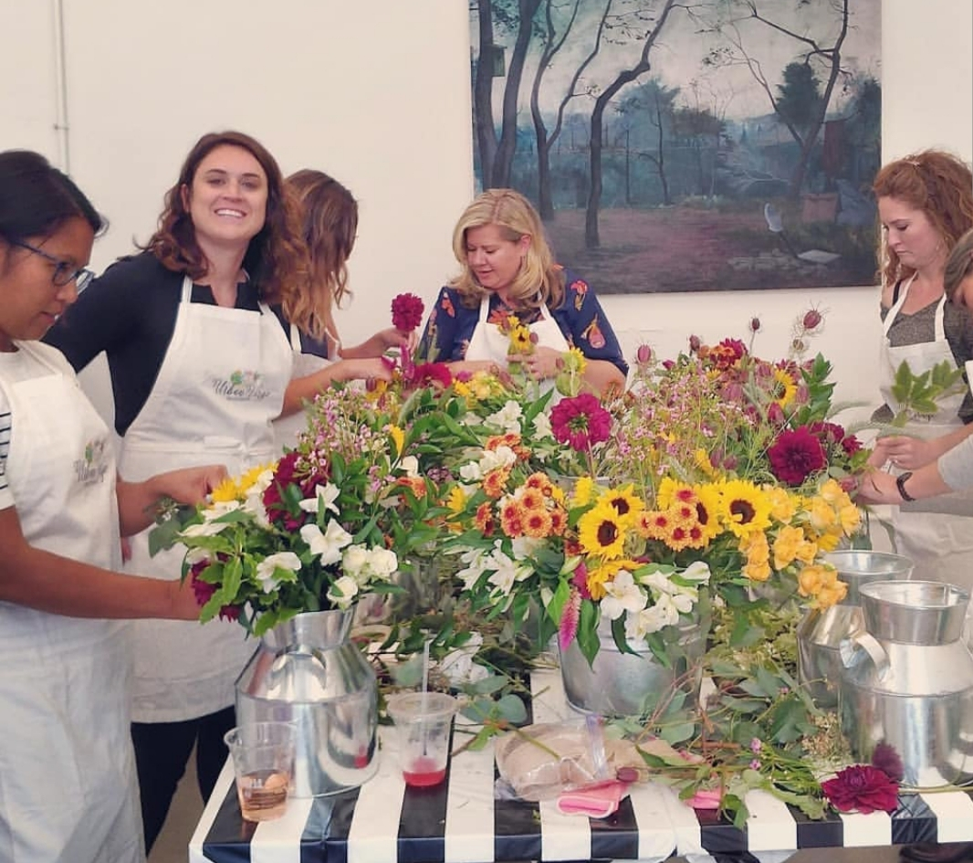 Floral Class at Women Made