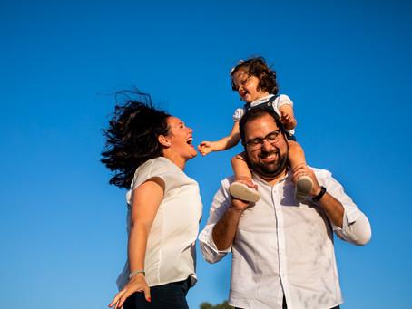 Reportaje de Familia en La Algaba. Fernando, Rocío y Marina.