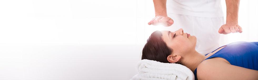 Reiki Energy Heal Treatment With Healing