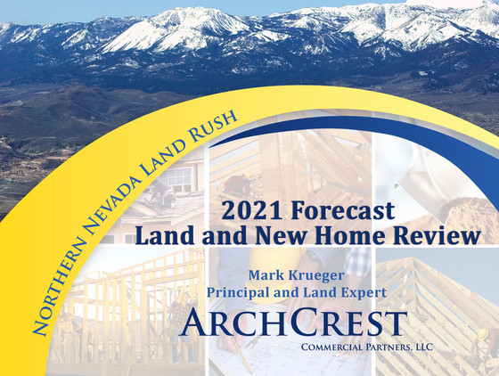 Mark Krueger's 2021 Land and New Home Forecast