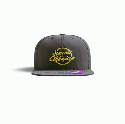 Success Is Contagious Black Snap Back.jp