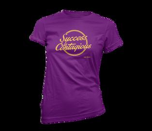 S.I.C. Purple Ladies Fit Tee