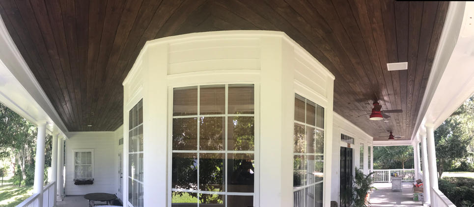 Wood Ceiling Project