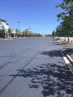 Lot before Line Striping