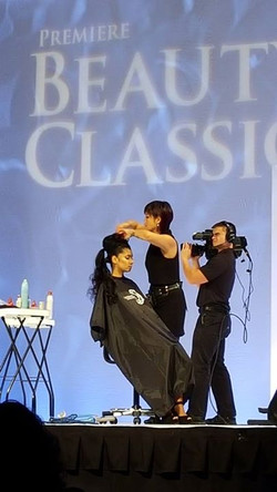 One of my ThermaFuse Main Stage models at Premiere Beauty Classic gave me such a nice compliment aft