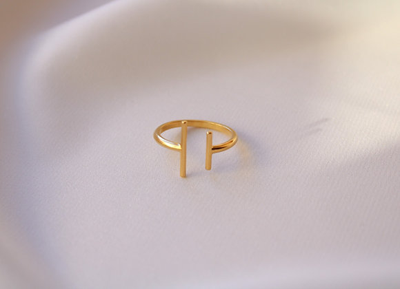 Two bars ring
