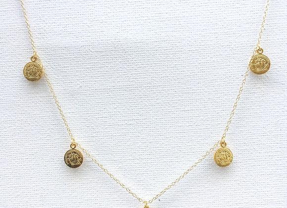 5 Denarii necklace