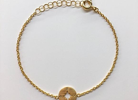 Wind rose bracelet