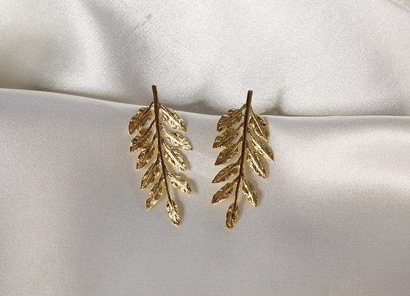 Fetus earrings