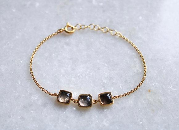 Three gemstone Bracelet