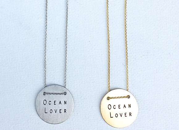 Ocean lover medal