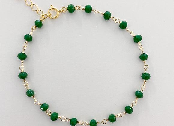 Tourmalines bracelet