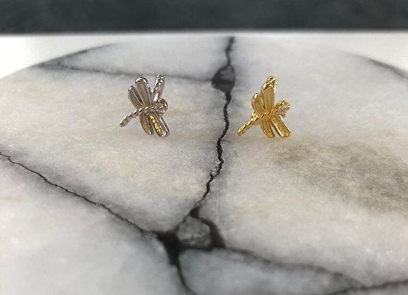Dragonfly ear cuff