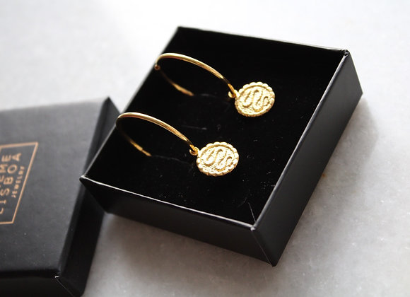 Egypt hoop earrings