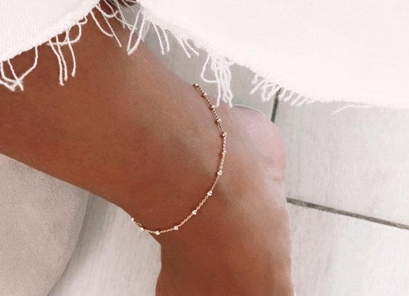 Dots ankle bracelet