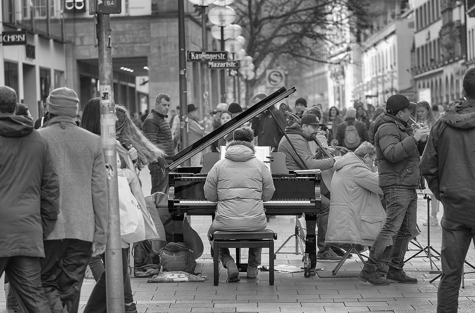 Monaco - Il Pianista di Strada