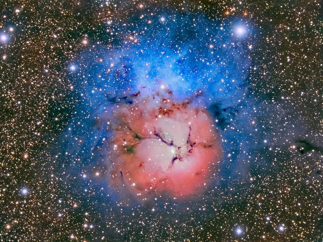 M20 - Nebulosa Trifida