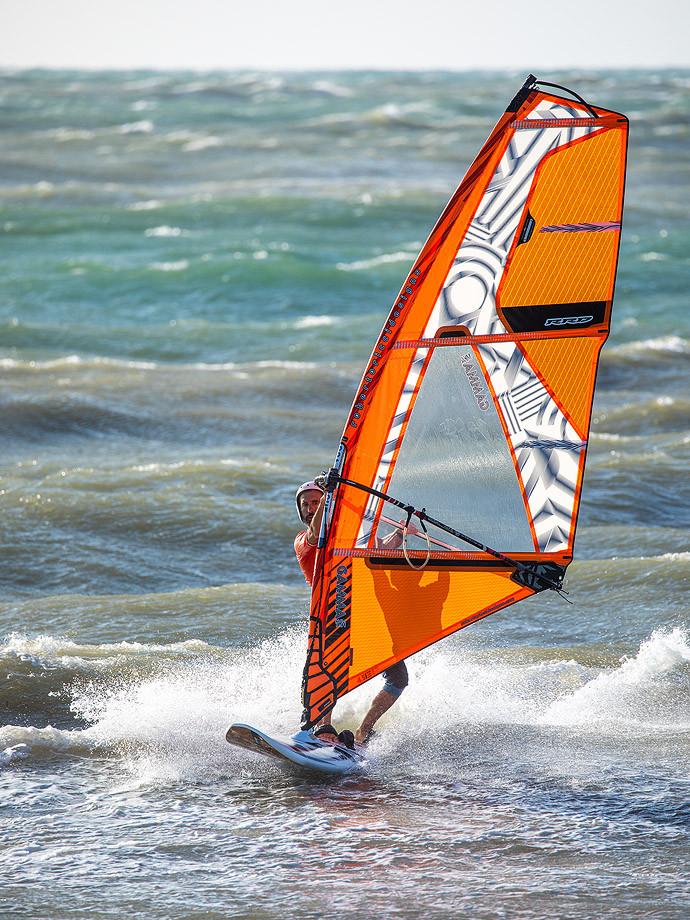 Livorno, Tre Ponti - Wind-Surfer