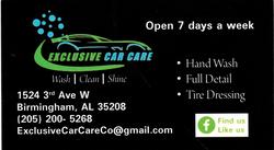 Exclusive Car Care