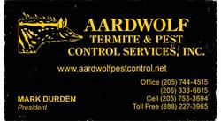 Aardwolf/Termite & Pest Control