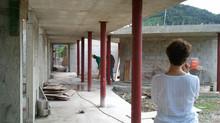 Visita al proyecto (Centro de Envejecientes) en Coamo, PR