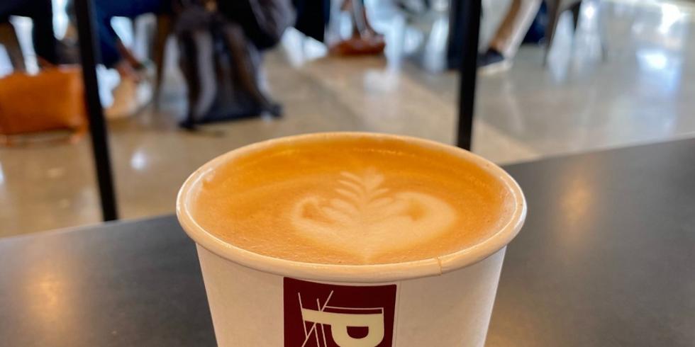 POP UP at Pilgrim Coffeehouse