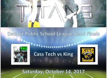 Cass Tech vs King - Clash of the Titans 2017